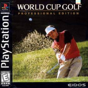The cover art of the game World Cup Golf: Professional Edition.