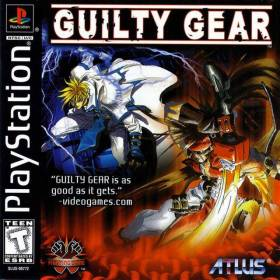 The cover art of the game Guilty Gear.