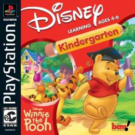The cover art of the game Disney's Winnie the Pooh: Kindergarten.