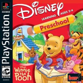 The cover art of the game Disney's Winnie the Pooh: Preschool.