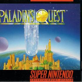 The cover art of the game Paladin's Quest.