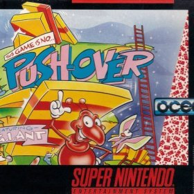 The cover art of the game Push-Over .
