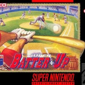 The cover art of the game Super Batter Up.