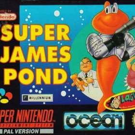 The cover art of the game Super James Pond II .