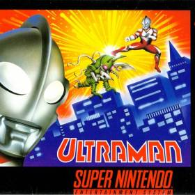 The cover art of the game Ultraman - Towards the Future.