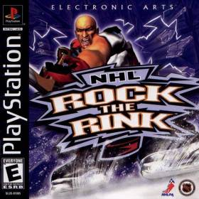The cover art of the game NHL Rock the Rink.