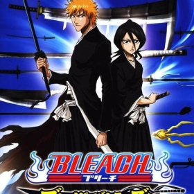 The cover art of the game Bleach: Blade Battlers.
