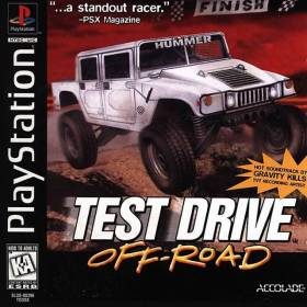 The cover art of the game Test Drive Off-Road.