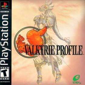 The cover art of the game Valkyrie Profile.