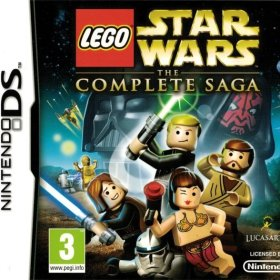 The cover art of the game LEGO Star Wars: The Complete Saga.