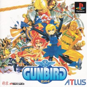 The cover art of the game Gunbird.