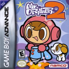 The cover art of the game Mr. Driller 2 .