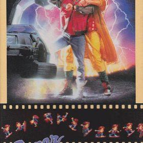 The cover art of the game Super Back to the Future Part II .