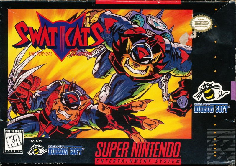 The coverart image of SWAT Kats - The Radical Squadron