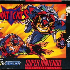 The cover art of the game SWAT Kats - The Radical Squadron .