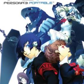 The cover art of the game Shin Megami Tensei: Persona 3 Portable (UNDUB).