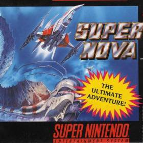 The cover art of the game Super Nova .