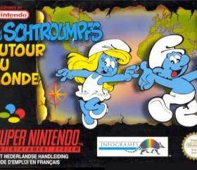 The cover art of the game The Smurfs 2,.