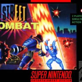 The cover art of the game Street Combat.