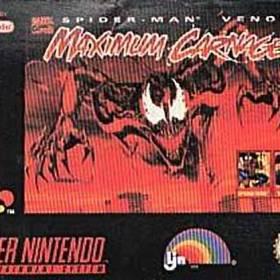 The cover art of the game Spider-Man & Venom - Maximum Carnage .
