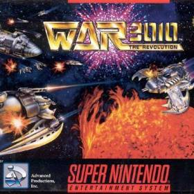 The cover art of the game War 3010 - The Revolution .