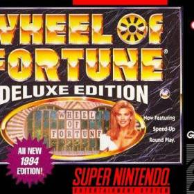 The cover art of the game Wheel of Fortune - Deluxe Edition .