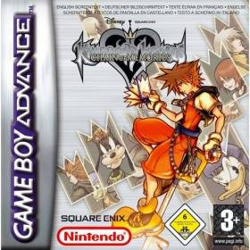 The cover art of the game Kingdom Hearts - Chain of Memories.