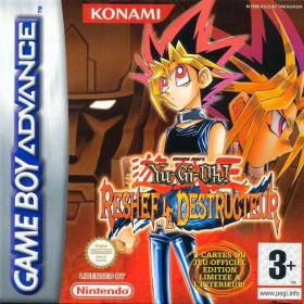 The cover art of the game Yu-Gi-Oh! Reshef of Destruction .