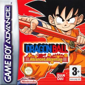 The cover art of the game Dragonball Advanced Adventure.