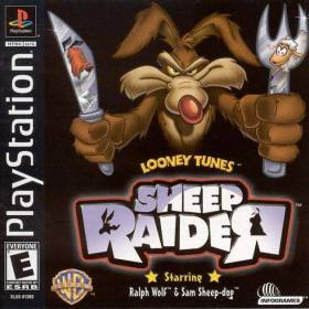 The cover art of the game Looney Tunes: Sheep Raider.