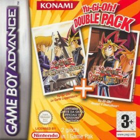 The cover art of the game 2 in 1 - Yu-Gi-Oh! Double Pack .
