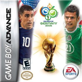 The cover art of the game  FIFA World Cup 2006 .