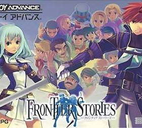 The cover art of the game Frontier Stories .