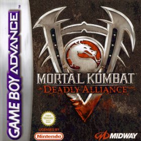 The cover art of the game Mortal Kombat - Deadly Alliance .