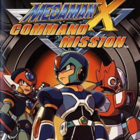 The cover art of the game Mega Man X: Command Mission.