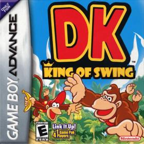 The cover art of the game DK - King of Swing .
