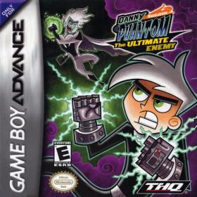 The cover art of the game Danny Phantom - The Ultimate Enemy .