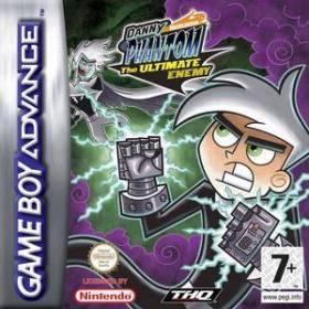 The cover art of the game Danny Phantom - Dschungelstadt .