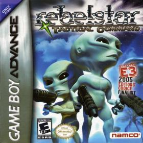 The cover art of the game Rebelstar - Tactical Commmand .