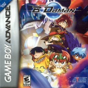 The cover art of the game Battle B-Daman - Fire Spirits .