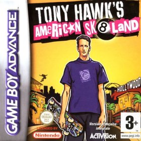 The cover art of the game Tony Hawk's American Sk8land .