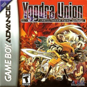 The cover art of the game Yggdra Union .