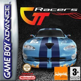 The cover art of the game GT Racers .