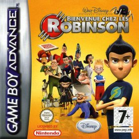 The cover art of the game Meet the Robinsons .