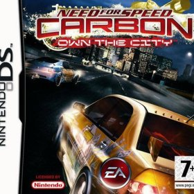The cover art of the game Need for Speed Carbon - Own The City.