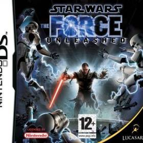 The cover art of the game Star Wars - The Force Unleashed.