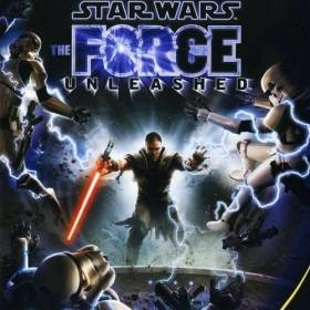 The cover art of the game Star Wars: The Force Unleashed .