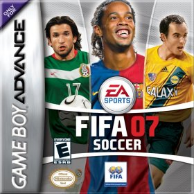 The cover art of the game FIFA Soccer 07.