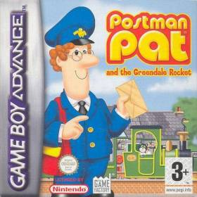The cover art of the game Postman Pat and the Greendale Rocket .
