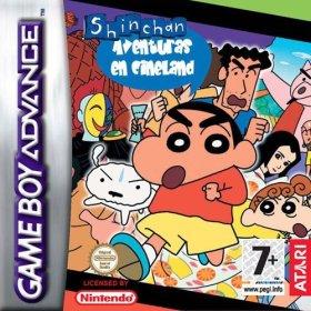 The cover art of the game  Shinchan Aventuras en Cineland .